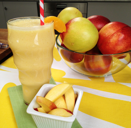 Peach Tofu Smoothie