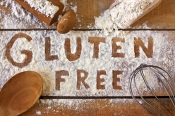 Gluten Free spelled out in flour.jpg