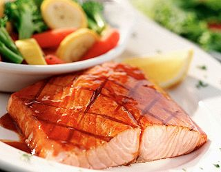 salmon, vision, Food Cures
