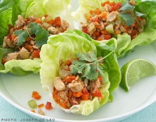 Chicken Lettuce Wraps, Diabetes, Food Cures