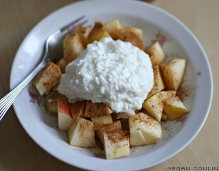 Cinnamon cottage cheese, energy, Food Cures