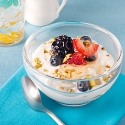 Quinoa-yogurt parfait, energy, Food Cures