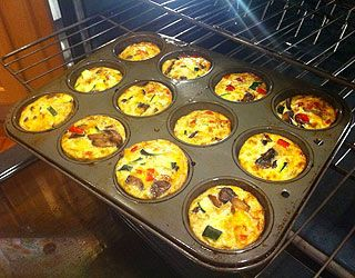 Veggie Frittata Muffins, Food Cures