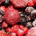 Frozen berries and cherries