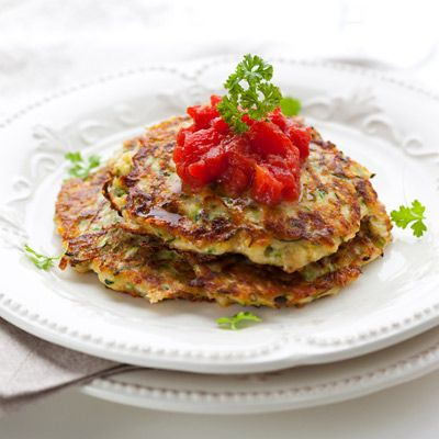 Lighten Up Latkes