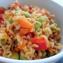 Edamame and Brown Rice Salad