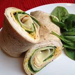 Turkey Swiss Roll-Up