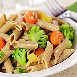 Whole Wheat Penne with Chicken and Broccoli